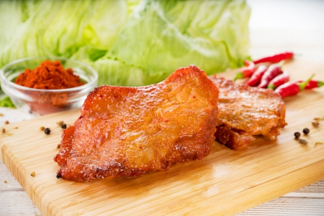 超好吃韓式勁辣雞腿排(1公斤/盒) 1